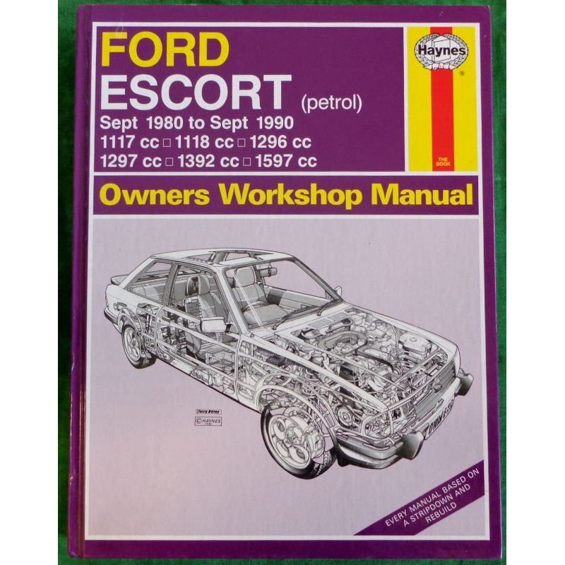 ford escort owners workshop manual books and toys rh booksandtoys co nz Ford Fusion Ford EXP