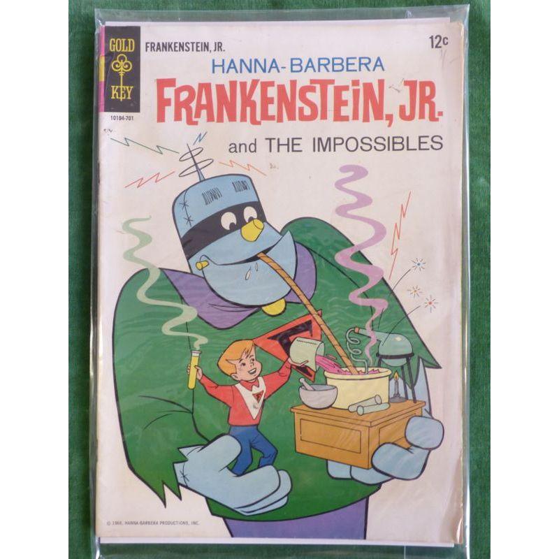 Frankenstein, Jr #1 1966 – Books and Toys