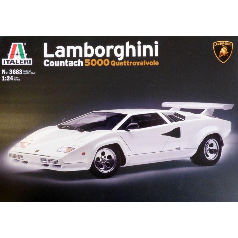 1 24 Lamborghini Countach 5000 Quattrovalvole Books And Toys
