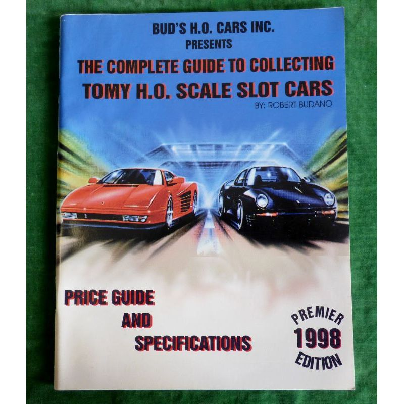 The Complete Guide to Collecting Tomy H O  Scale Slot Cars