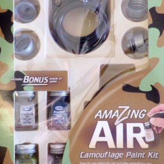 Testors Airbrush Camouflage Paint Kit